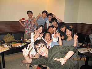 平成26年度新入社員歓迎会