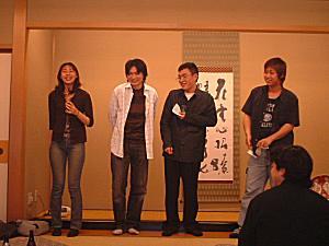 2004年新入社員歓迎会